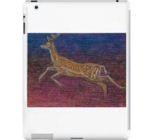 Deer leaping iPad Case/Skin