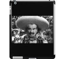 Walls and Badges Parody iPad Case/Skin