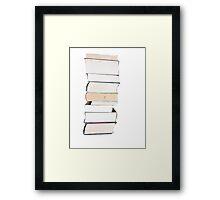 Alphabet I Framed Print