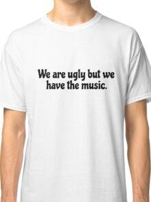 Inspirational Motivational Rock Music Lyrics Classic T-Shirt