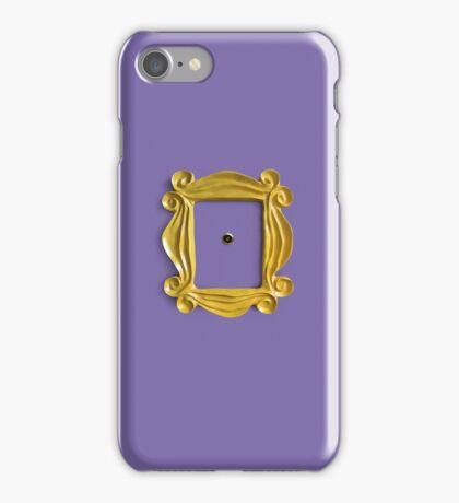 Freinds peephole frame iPhone Case/Skin
