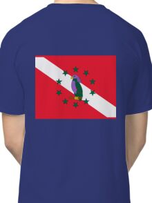 Dominica Diver Down Flag Classic T-Shirt