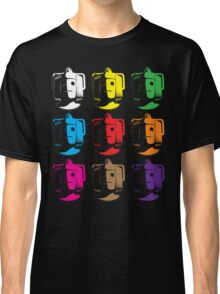 Cyberman pop art Classic T-Shirt