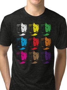 Cyberman pop art Tri-blend T-Shirt