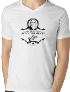 Carsons Accoutrements - Downton Abbey Industries Mens V-Neck T-Shirt