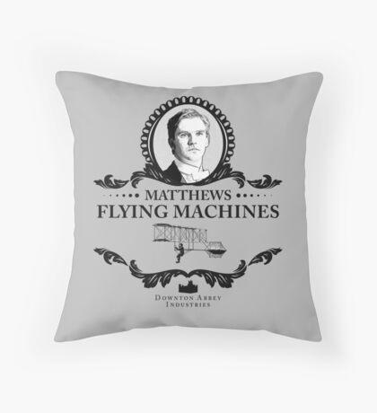 Matthew Crawley - Downton Abbey Industries  Throw Pillow