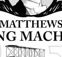 Matthew Crawley - Downton Abbey Industries  Sticker