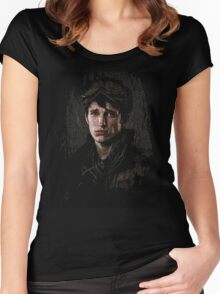 10k portrait - z nation Women's Fitted Scoop T-Shirt