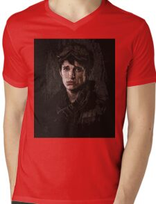 10k portrait - z nation Mens V-Neck T-Shirt