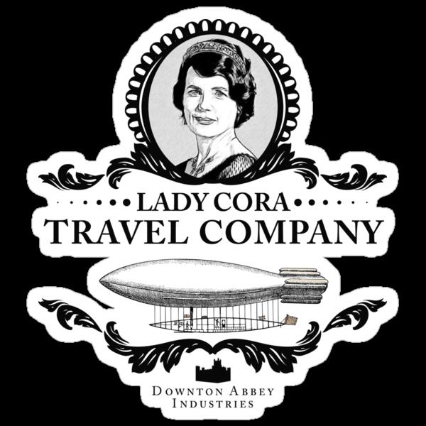 Cora Crawley - Downton Abbey Industries by Rob Stephens
