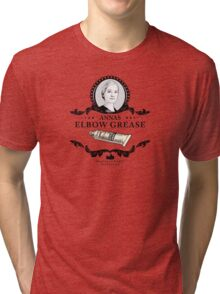 Annas Elbow Grease  - Downton Abbey Industries Tri-blend T-Shirt
