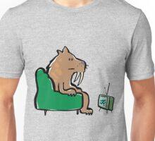 watching TV Unisex T-Shirt