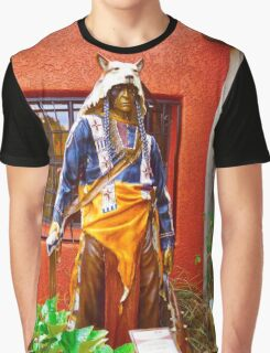 Chief Rain In The Face Graphic T-Shirt