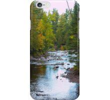 River in Fall - 2 iPhone Case/Skin