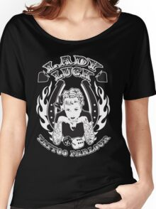 Lady Luck Tattoo Parlour Women's Relaxed Fit T-Shirt