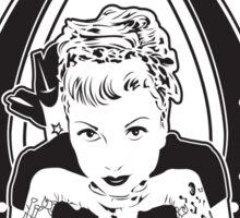Lady Luck Tattoo Parlour Sticker