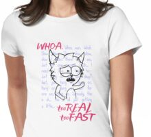 WHOA MAN Womens Fitted T-Shirt