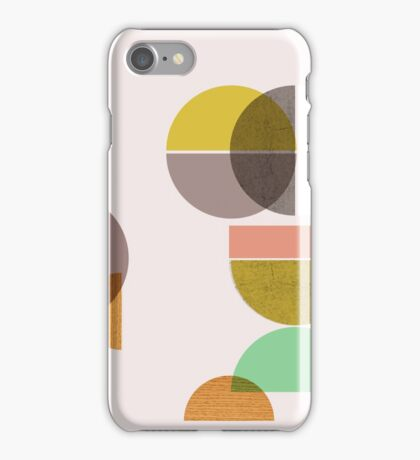 Still Life with circle iPhone Case/Skin