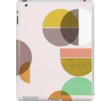 Still Life with circle iPad Case/Skin
