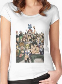 Fairy tail Women's Fitted Scoop T-Shirt