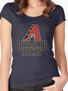 arizona diamond backs Women's Fitted Scoop T-Shirt