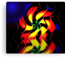 Bold Primary Colors Canvas Print