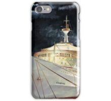 Canberra; Overnight in Hong Kong 1980 iPhone Case/Skin