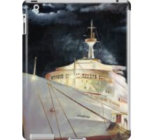 Canberra; Overnight in Hong Kong 1980 iPad Case/Skin