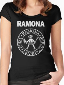 RAMONA  Women's Fitted Scoop T-Shirt