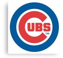 chicago cubs Canvas Print