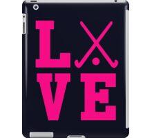 Love Field Hockey iPad Case/Skin