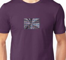 Bars, Diamonds, and Rays Abstract Unisex T-Shirt