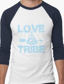 Love My Tribe Men's Baseball ¾ T-Shirt