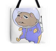 Space hamster Tote Bag