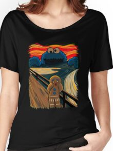 The Cookie Muncher  Women's Relaxed Fit T-Shirt