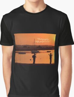 Photographers in Topsham Graphic T-Shirt