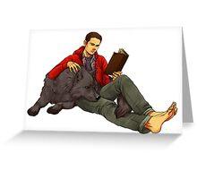 Teen wolf Sterek Greeting Card