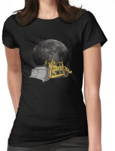 Space Dozer Womens Fitted T-Shirt