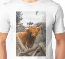 Scottish Highland Cow Unisex T-Shirt