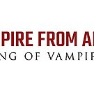 The Vampire from Alcatraz: King of Vampires by typeo