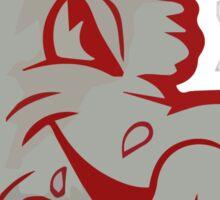 Retro New Mexico Lobos  Sticker
