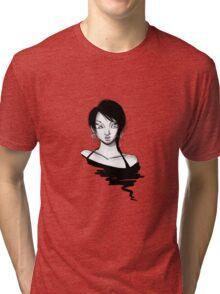 Eve Violet: Hoops Tri-blend T-Shirt