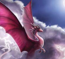 Lightning Dragon - Breaking Through Electric Skies Sticker