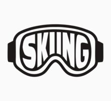 Skiing goggles Kids Tee