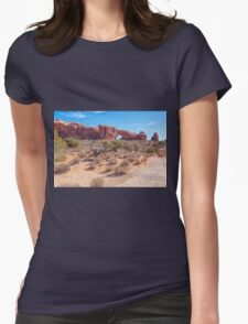 North Window Arch Womens Fitted T-Shirt