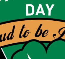 KRW Proud to Be Irish St Patrick's Day Sticker