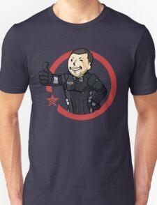 Mass Effect - Vault Boy Shepard (Renegade) T-Shirt