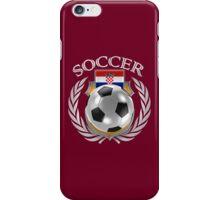 Croatia Soccer 2016 Fan Gear iPhone Case/Skin