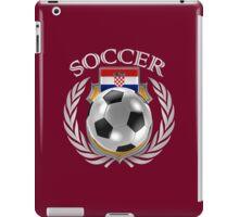 Croatia Soccer 2016 Fan Gear iPad Case/Skin