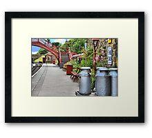 Goathland Station, Yorkshire Framed Print